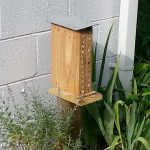 """Southern facing, 2' off the ground mounted on 4""""x4"""" post"""